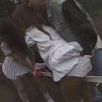 テニスのフリフリスカートギャル達がコートで痴漢レイプされる動画