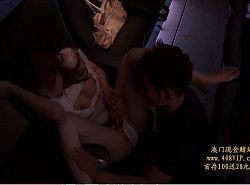 痴漢魔に弱みを握られた美人妻が上映中の映画館内で体を弄ばれる動画