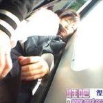 電車で密着痴漢された美形JKのデカチン強制フェラ動画