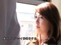 いつもバスで痴漢されるいやらしい妄想膨らませる巨乳女教師動画