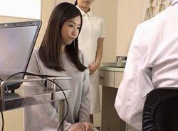 出産未経験の幼な妻が産婦人科でワイセツ診察される動画