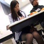 大学授業中にチカンされる校内ナンバー1美女