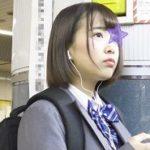 乃木坂系美少女を2人で挟み痴漢★紐パンほどいて強奪★前後からWチ○ポこすりつけ!