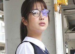 生徒会長確定の完璧なメガネ美少女に遭遇★車内で抵抗も無情の生中出し★トイレの床で鬼畜中出し2連発!