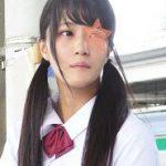 田舎っぽさ全開の原石美少女★上京JKの背伸びTバックを切断★中出し後にトイレで濃厚顔射